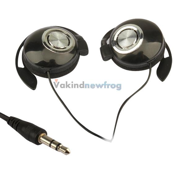 Best Super Clear Sport Earphone Clip On Sports Stereo Headphones Earphone For MP3 MP4 Player V3NF