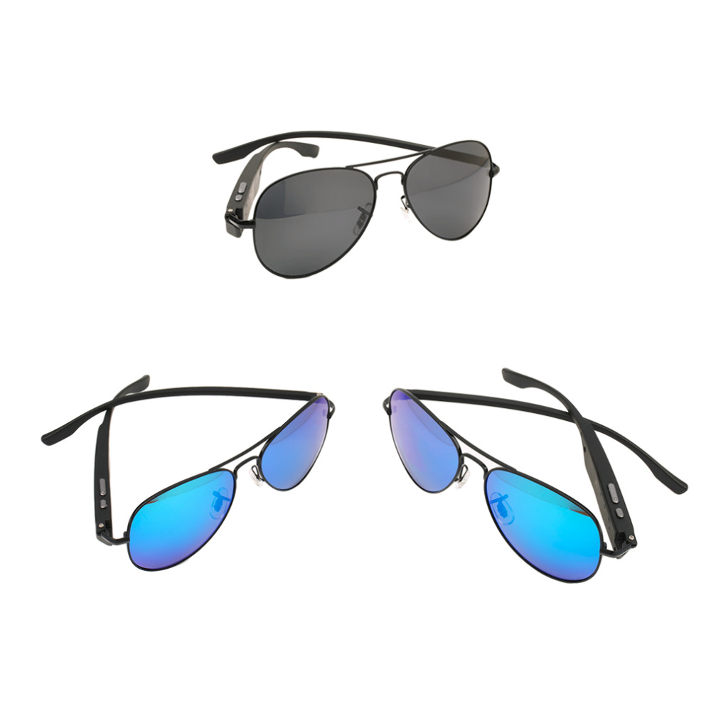2016 Newest Driving Bluetooth Sunglasses Smart Eyewear Glasses For Android IOS P