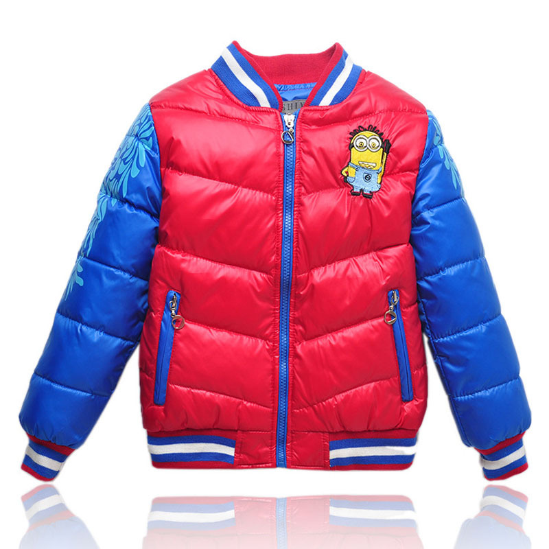 new style kid down jacket,autumn Winter Unisex Sport Baseball jacket Free Shipping high quality child down coat warm<br><br>Aliexpress