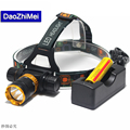 2018 New 3800LM T6 Diving head lamp Waterproof Headlight Led Lighting LED Headlamp Torch 1 18650
