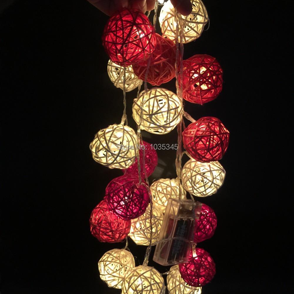 Hoge kwaliteit groothandel rotan bal licht van chinese rotan bal ...