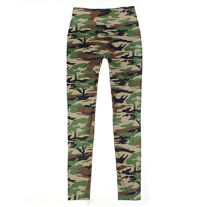 2015 сексуальная камуфляж панк дамы спорт военная девять леггинсы для женщин печать брюки леггинсы фитнес граффити женские легинсы L9026