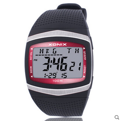 XONIX GF series 10 ATM waterproof military observers diving outdoor swimming dress fashion digital multifunctional Cycling watch  -  New Funland store