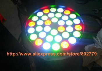 Free Shipping 108W LED Stage Lighting Powerful Waterproof LED Par Can