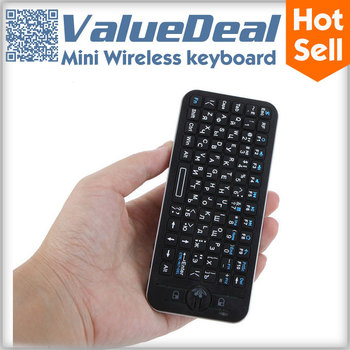 KP-810-16A 2.4G Wireless Keyboard Fly Air Mouse Russian teclado Remote Control For  Android Smart TV Box Desktop Laptop Mini PC