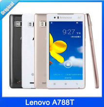 "Original Lenovo A788T 5.0"" IPS Quad Core 1GB RAM 8GB ROM Android 8MP 4G TD-LTE Russian Language unlocked mobile phone"