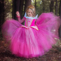 2016 New fashion Girls Princess Free Shipping Retail Princess Dress Children Dresses Summer Dress Elsa Dress