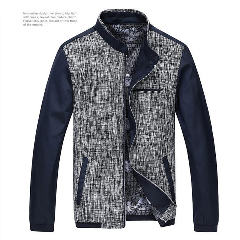 new casual men jacket brand autumn and winter coat jackets