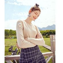 SEMIR 2019 Kaschmir Gestrickte Pullover Frauen Pullover Rollkragen Herbst Winter Grund Frauen Pullover Koreanischen Stil Slim Fit Schwarz(China)