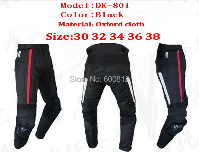 2014 MOTO Racing Cross-country Motorcycle pants trousers DK-801 cycle racing automobile race clothing Oxford cloth