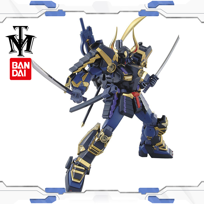 Bandai Hobby 1/100 True dynasty warriors Gundam Musha MK-II model Puzzle assembled Robot boy Anime Action Figure toy gift gunpla(China (Mainland))