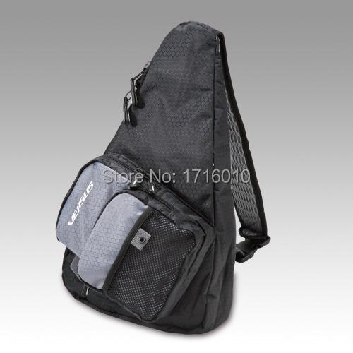 Hot new vs b6069 diagonal backpack pockets fishing tackle for Fishing backpack tackle bag
