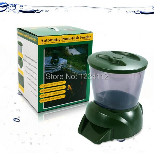Buy Good Quality Abs Automatic Fish Food Feeder For Pond From Reliable Food