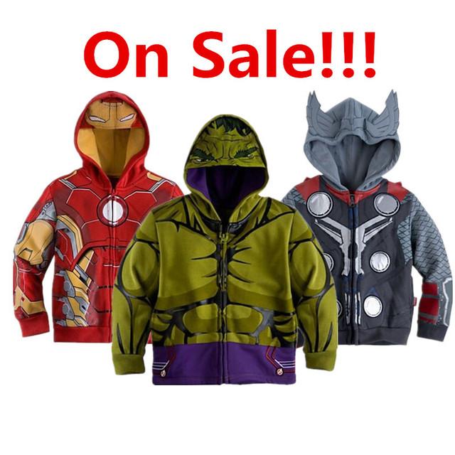 Новый 2016 Весна Осень толстовка На Молнии детская мальчик Пальто дети девочка мальчик толстовки куртки Детские мультики Одежда верхняя одежда