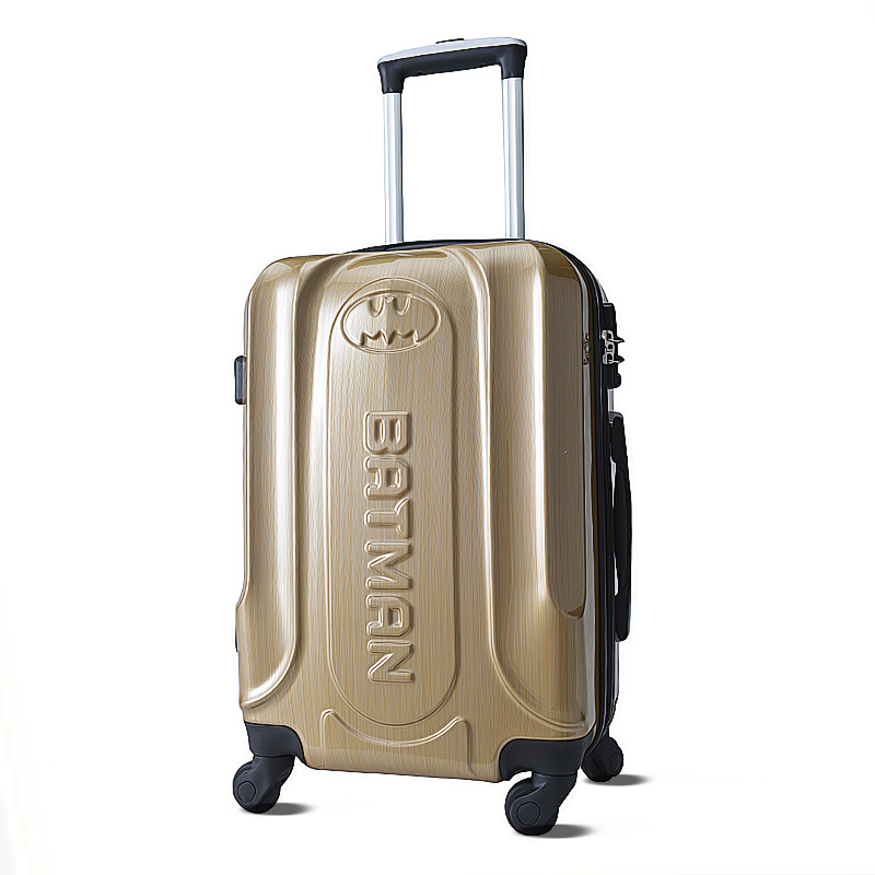 20 inches Batman Luggage, limited edition high-grade material trolley case, factory direct suitcase,Mute roller, password box<br><br>Aliexpress