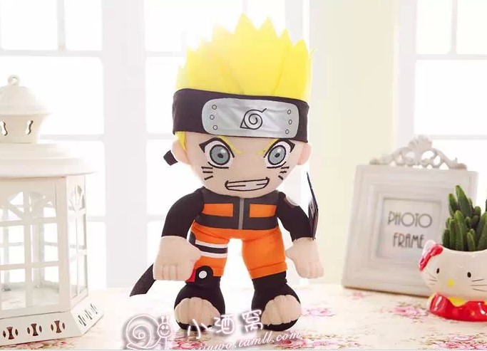 Movies & TV Naruto 35cm Naruto Immortal state pattern plush toy about 13 inch doll gift s7305(China (Mainland))