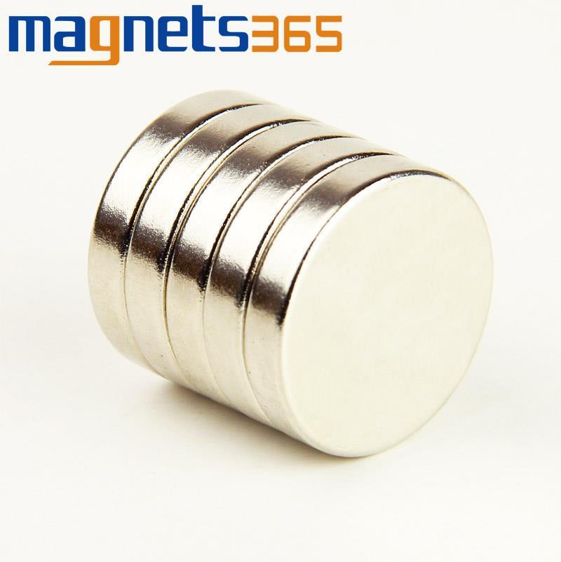Гаджет  10pcs x Cylinder Super strong Magnet 25mm x 5mm Rare Earth Neodymium N35 Craft Model None Строительство и Недвижимость