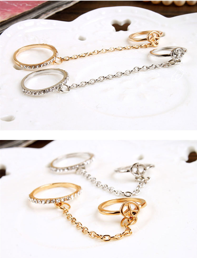 aliexpress buy gold plated midi finger rings