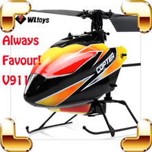 WLtoys V911 New Year Gift Single Blade RC Helicopter 2.4G 4 CH Remote Control Toys RTF Helicopter Electric Indoor Outdoor Fly