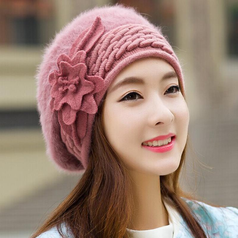 2016 beanies womens winter hats for women knitted bonnet