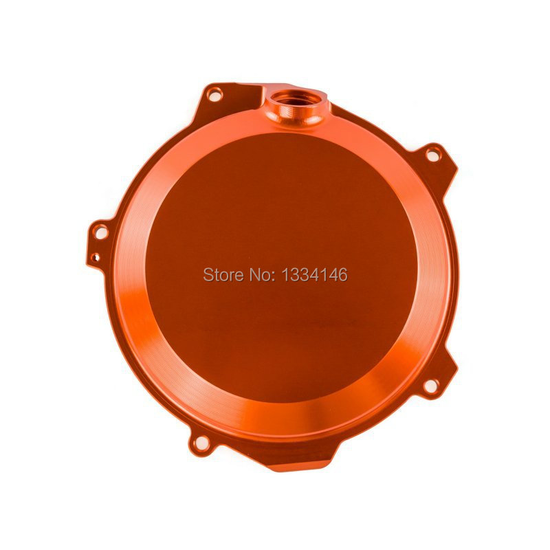 Orange Billet Clutch Cover Outside Fits For KTM 250 EXC-F/XCF-W 2014 2015