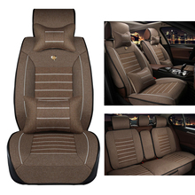 Buy Yuzhe Linen car seat cover Geely Emgrand EC7 X7 FE1 seat covers car accessories styling for $147.54 in AliExpress store