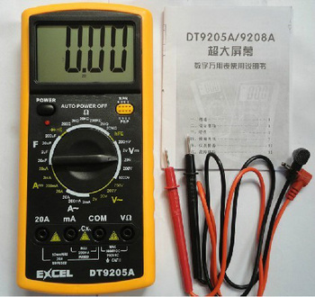 AC/DC Professional Electric Handheld Tester Meter Digital Multimeter