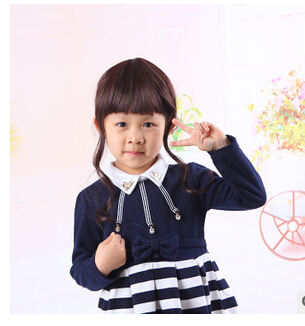 Children's wig baby girl wigs children photography photo model net lovely curly wigs(China (Mainland))