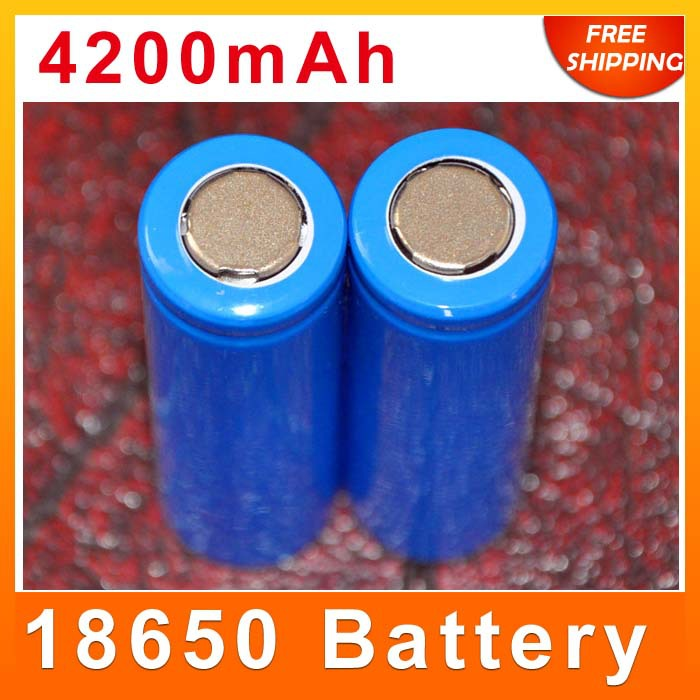 18650 lithium battery rechargeable batteries 4200 mah High capacity power bank LED Flashlight Electric torch - DIY DigiWorld store