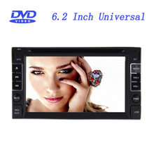 6.2 Inch Universal 2 Din In-Dash Car DVD Player with GPS Bluetooth Touch Screen USB Front-facing Camera Input(China (Mainland))