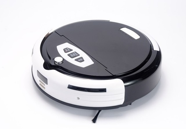 Robotic vacuum cleaner,new design,long working time,never touch charge base and sonic wall,ultrasonic