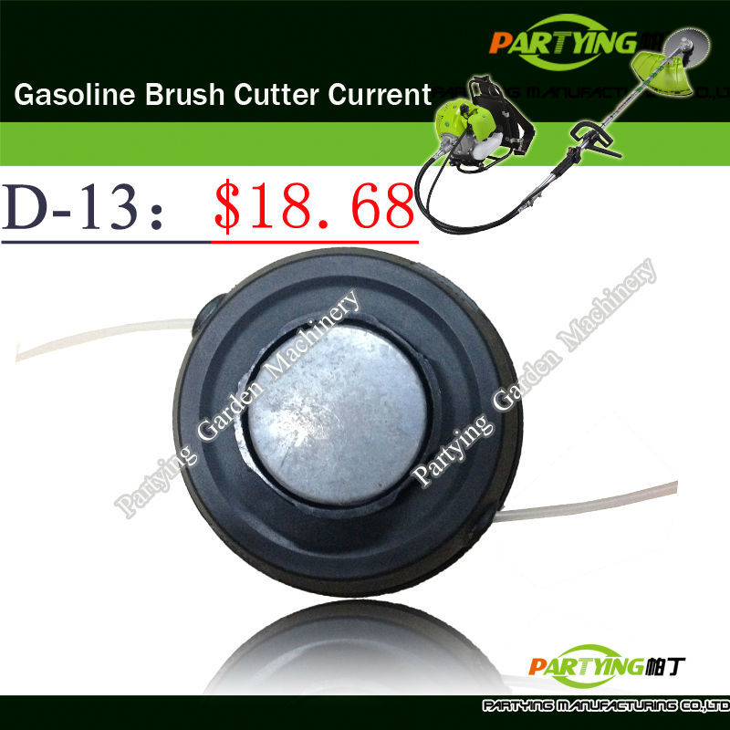 Free Shipping buy 2 get 1 free petrol lawn mower trimmer 4-stroke brush cutter head grass cutting machine gasoline plastic D-13(China (Mainland))