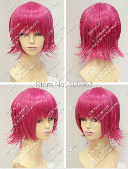 League Annie COS wig New sexy short Rose Red Cosplay Anti- Alice wigs Natural Kanekalon Fiber no lace Hair full Wigs<br><br>Aliexpress