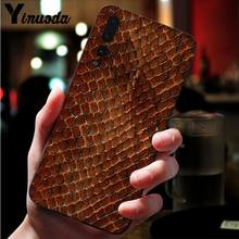 Yinuoda Snake Skin TPU Soft Silicone Phone Case Cover for Huawei P10 plus 20 pro P20 lite mate9 10 lite honor 10 view10 Cover(China)
