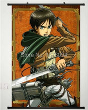 Home Decor Anime new Shingeki no Kyojin /Attack on Titan POSTER WALL Scroll