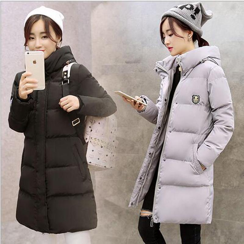 brand high quality wadded jacket female 2016 new womens winter long down cotton jacket slim parkas ladies coat plus size M-3XLОдежда и ак�е��уары<br><br><br>Aliexpress