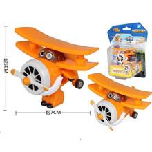 Super brinquedos Figuras de Ação Super Asa Asas de Avião Mini ABS Robô Transformação Jet Animação Brinquedos Do Presente Das Crianças Das Crianças(China)