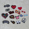 New Arrival 16 kind of select hot melt adhesive applique embroidery patch DIY clothing accessory patch