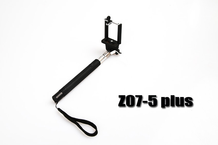 new design anti spin groove tube adjustable selfie stick extendable handheld wired monopod. Black Bedroom Furniture Sets. Home Design Ideas