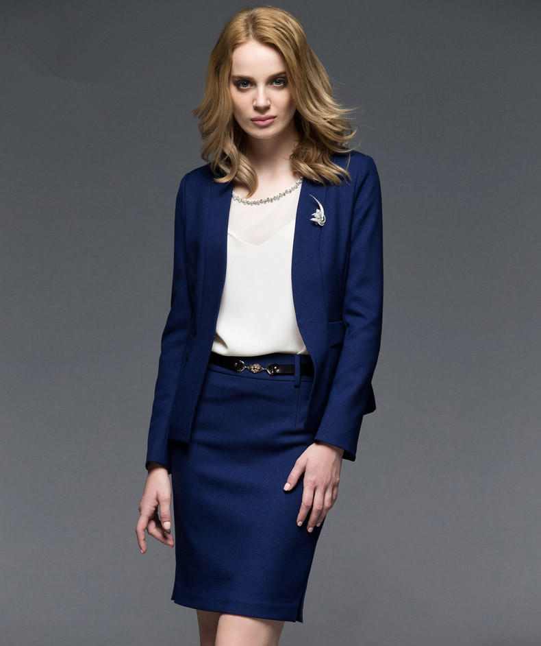 Royal blue blazer women online shopping-the world largest royal