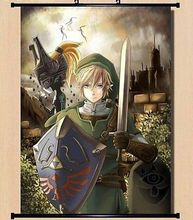 The Legend Of Zelda Twilight Princess Home Decor Poster Wall Scroll 635 Cosplay