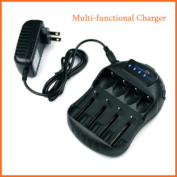 Multifunctional Trustfire Universal Battery Charger aa aaa 18650 14500 16340 10440 14650 17670 18500(China (Mainland))