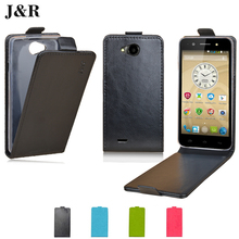 Buy Flip Leather Case ZTE Blade GF3/Q Pro Luxury Leather Cover Case ZTE GF3 4.5'' Protective J&R Verticel Mobile Phone Bags for $3.99 in AliExpress store