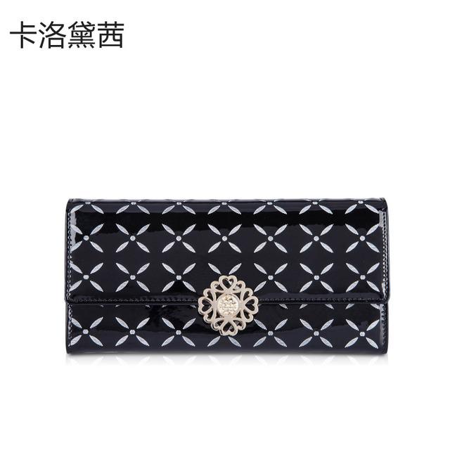 Coraldaisy  Wallet  New  2013   Print Long  Design  Wallet   Hasp Purse  Hardware Wallet   Money Clips Designer Wallets