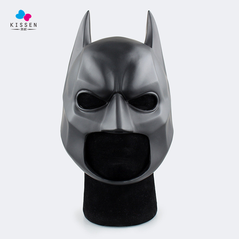 Kissen Batman Soft Helmet Action Figure 1/1 scale painted figure Cosplay Batman Soft Helmet To Children Doll PVC ACGN figure Toy(China (Mainland))