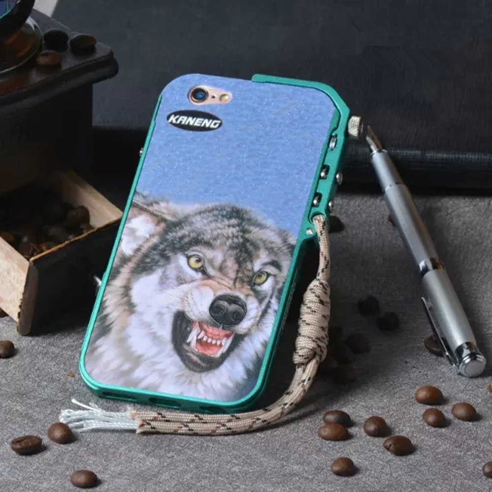 New Design Brand Mechanical Arm Metal Aluminum Luxury Caso For iphone 6s 6plus Case mobile phone Frame ipone 6plus Cases Coque(China (Mainland))