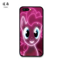 Стильная футболка с изображением персонажей видеоигр с рисунком из мультфильма «Мой Маленький Пони» Coque Funda для OPPO чехол для OPPO R9 R11 A59 R7 R15 A77 ...(China)