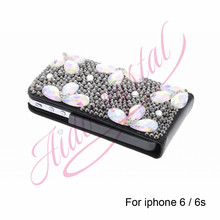 Aidocrystal PU Leather Case Cover For iphone 6/6s Case Luxury Open down/up Flip Cover Vertical CellPhone Case