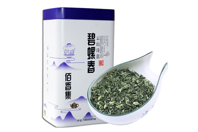 Гаджет  Free Shipping 2013 New Green Tea Dongting Biluochun Tea Fragrant Spring 250g Canned None Еда