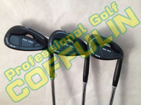 New 588 RTX CB Golf Wedges Set With Steel Shaft 52/56/60Degree Golf Clubs Black Color DHL Shipping